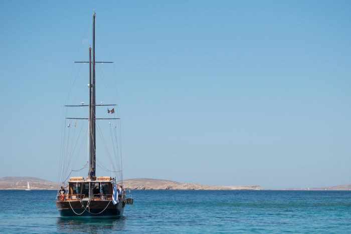 Mykonos: South Coast Sailing Tour with Paradise Beach & BBQ