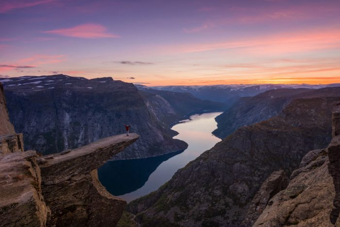 Odda: Overnight Hike to Trolltunga