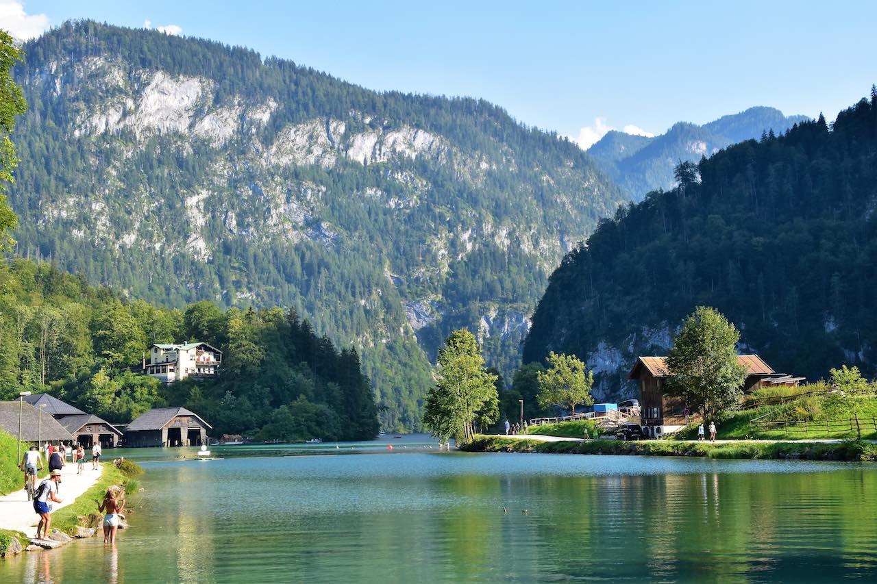 Schönau , Königssee , Berchtesgadener Land, Germany