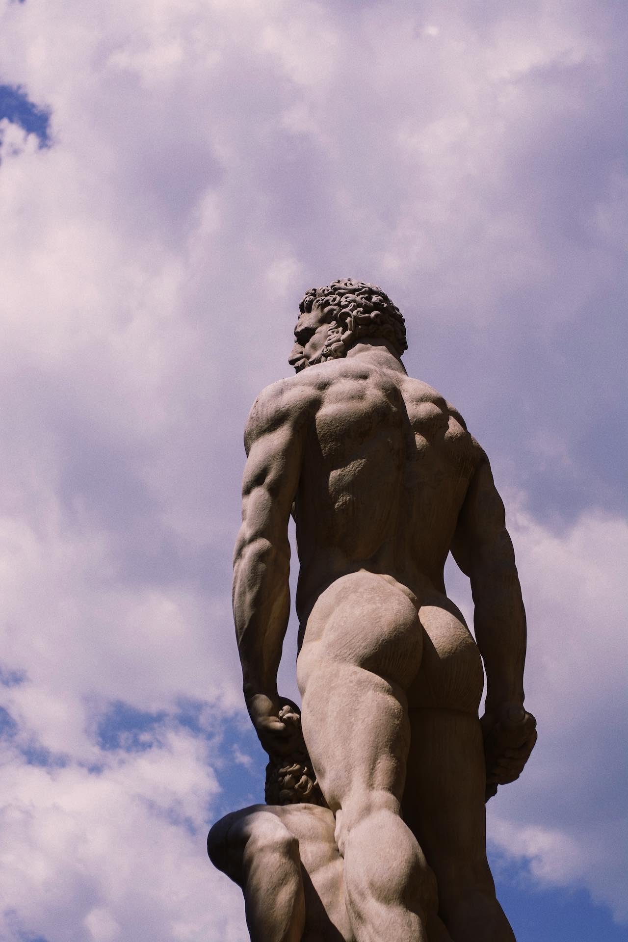 Rome Male Statue