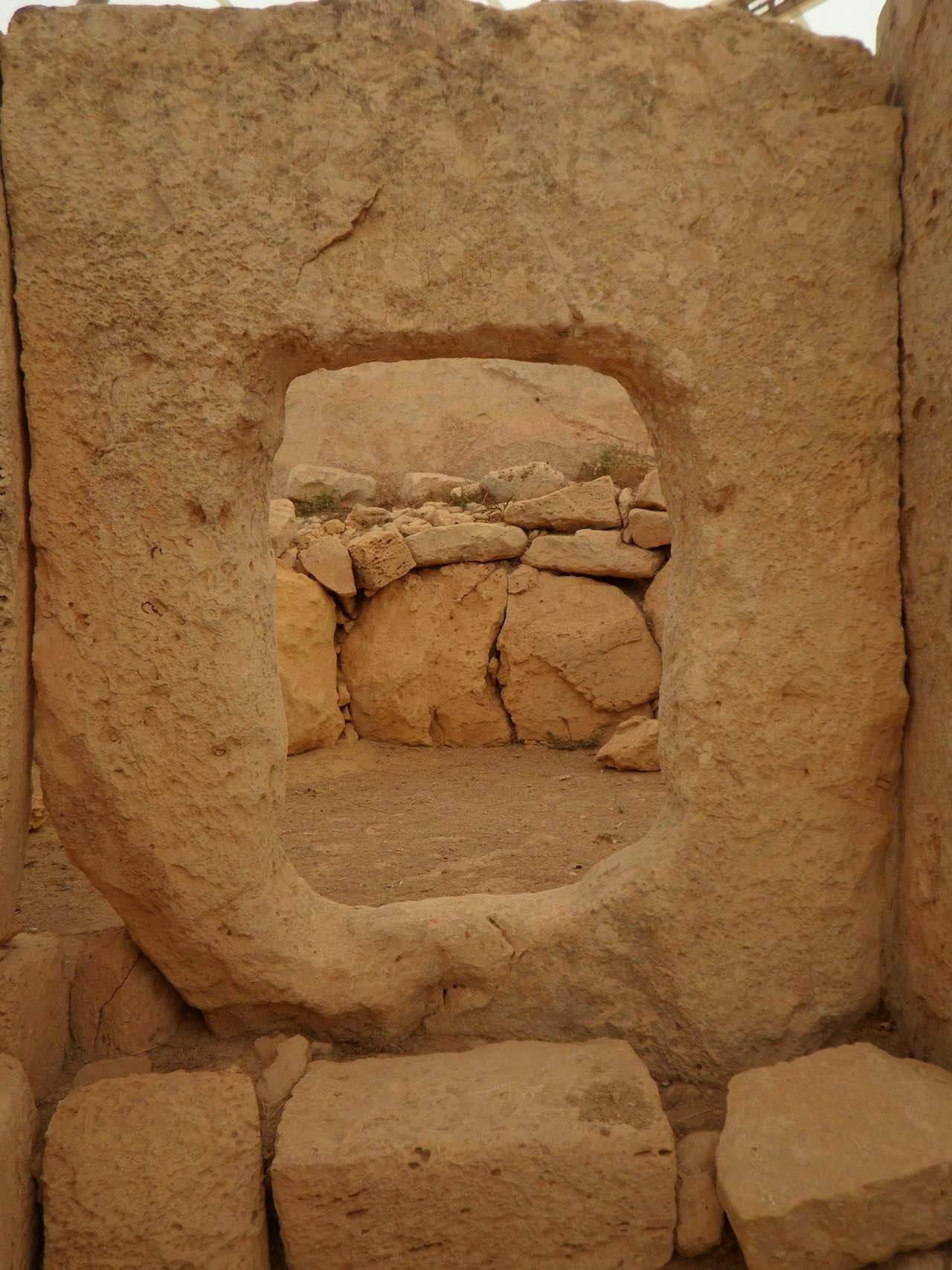 Stone Monument in Malta