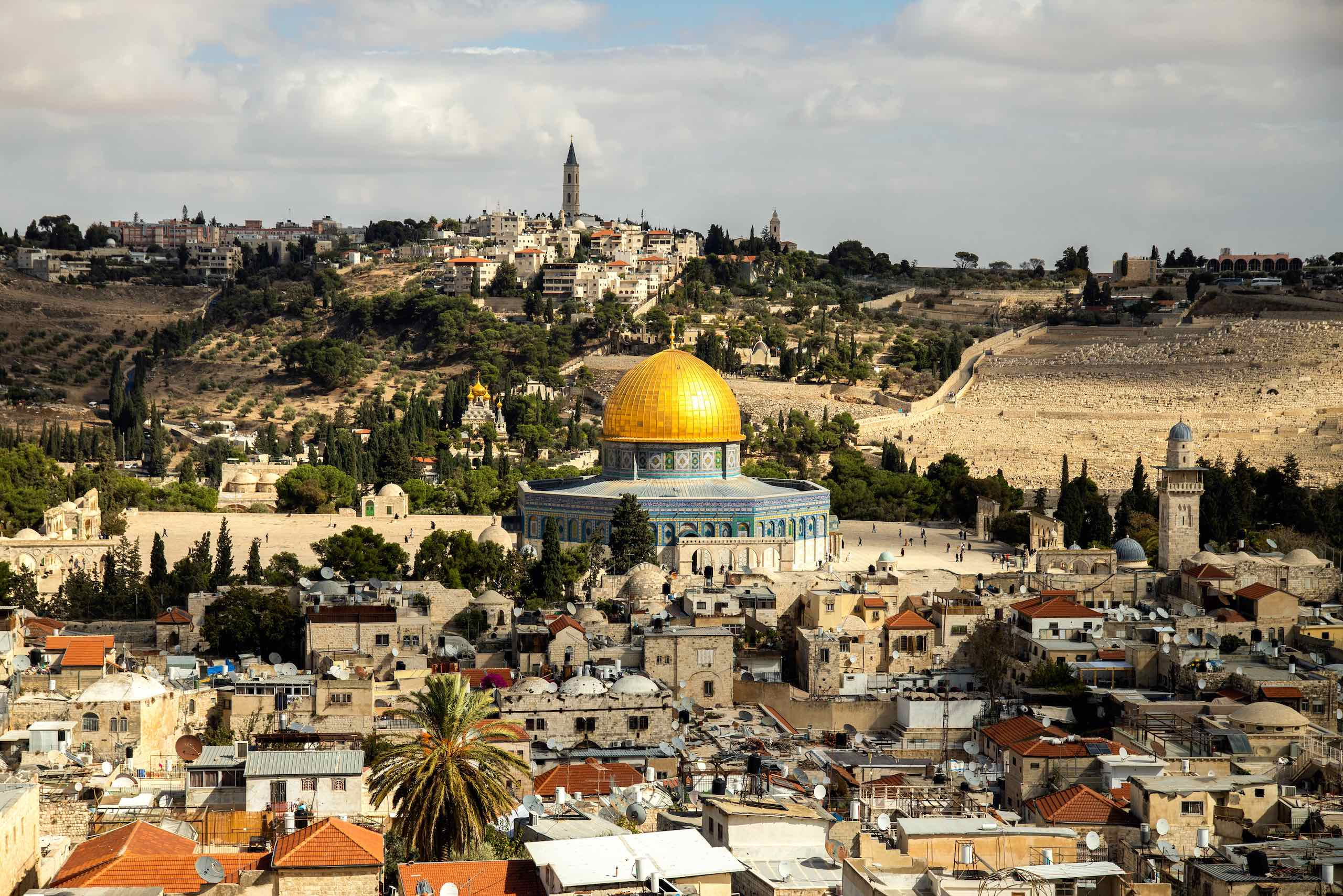 Dome of the Rock   Photo: Sander Crombach