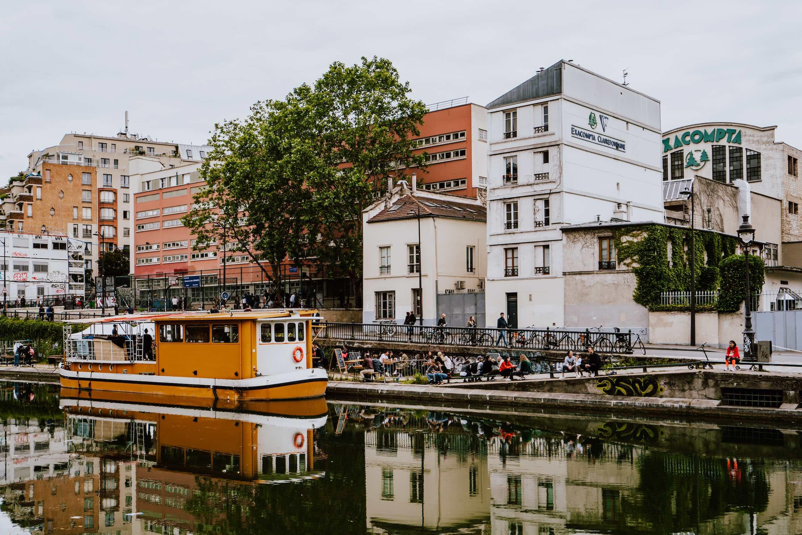 Canal Saint Martin Paris Credit Xuan Nguyen