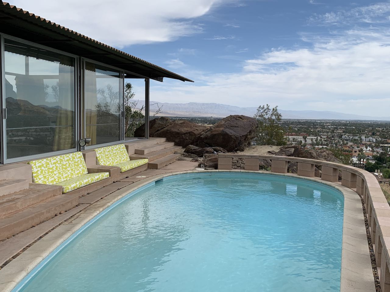 Frey House II Palm Springs Pool