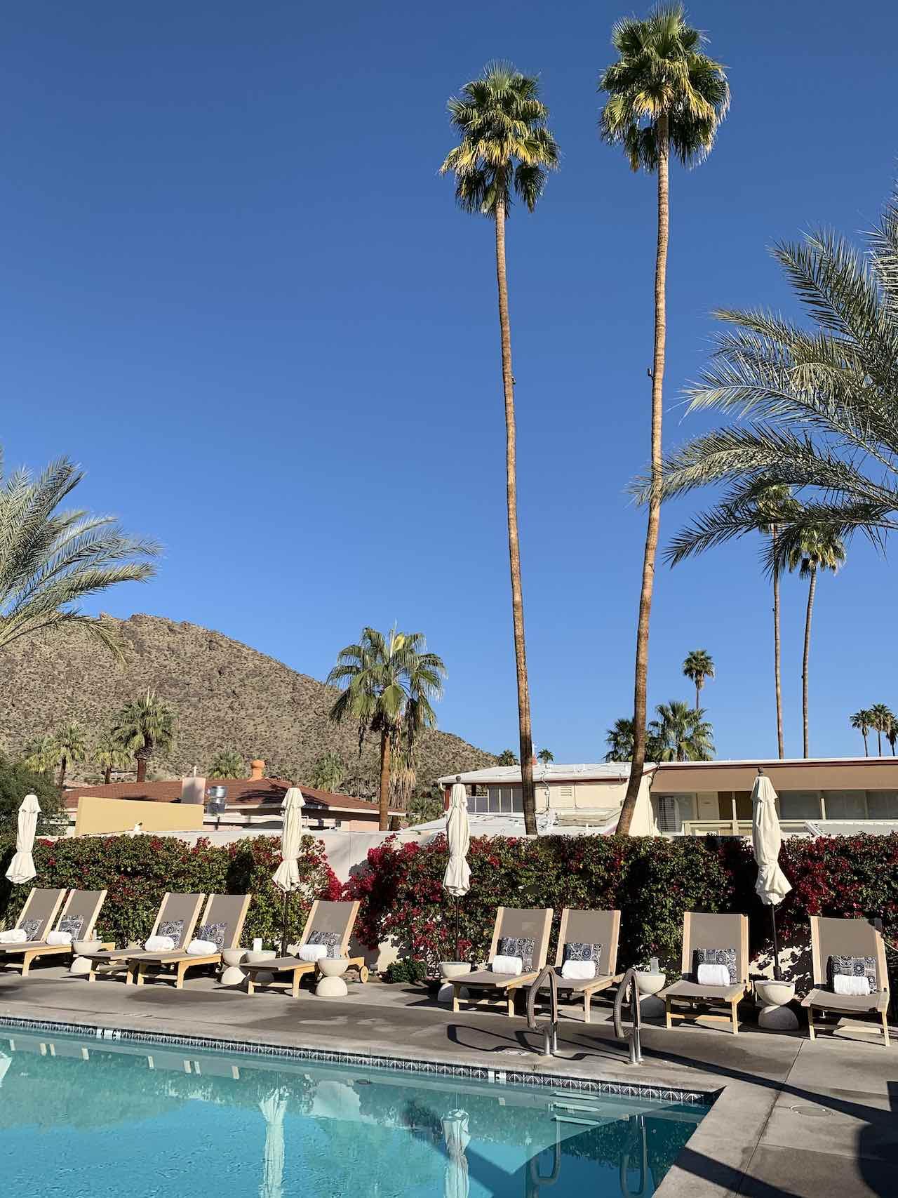 La Serena Villas Pool Palm Springs