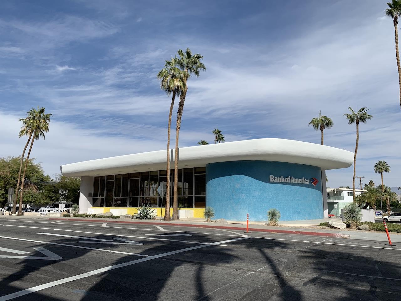 Palm Springs Bank of America