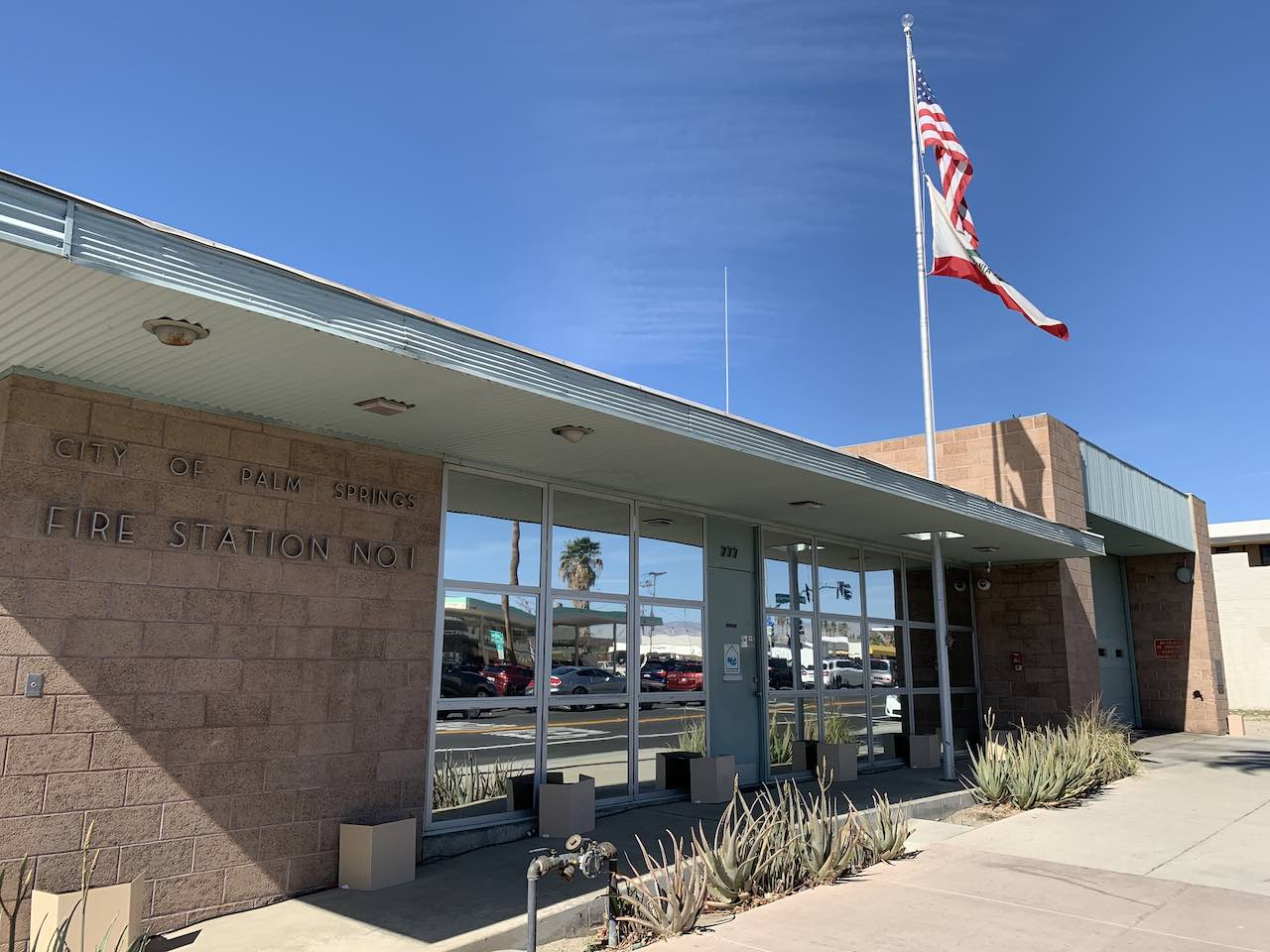 Palm Springs Fire Station