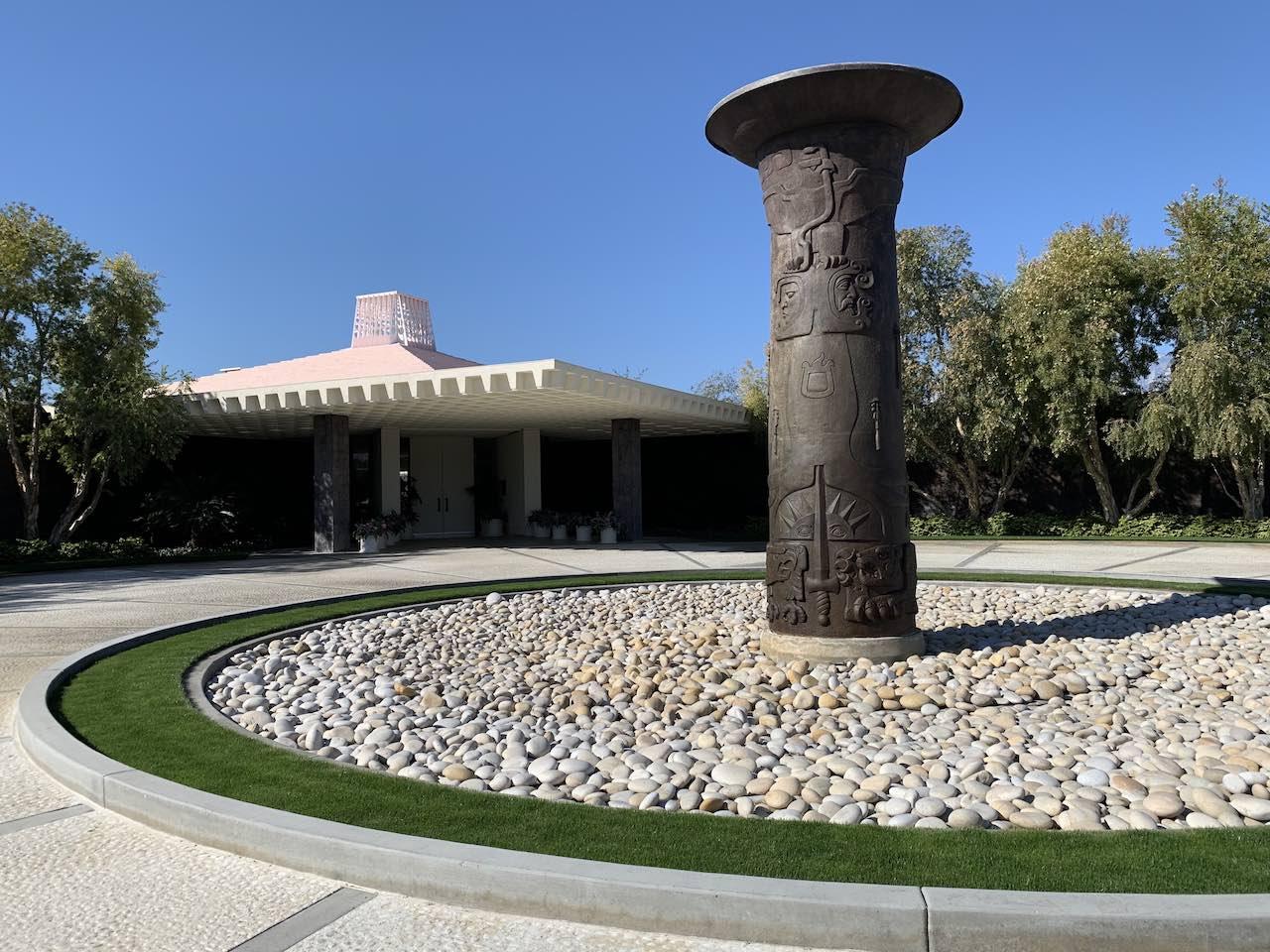 Sunnylands Entrance Palm Springs