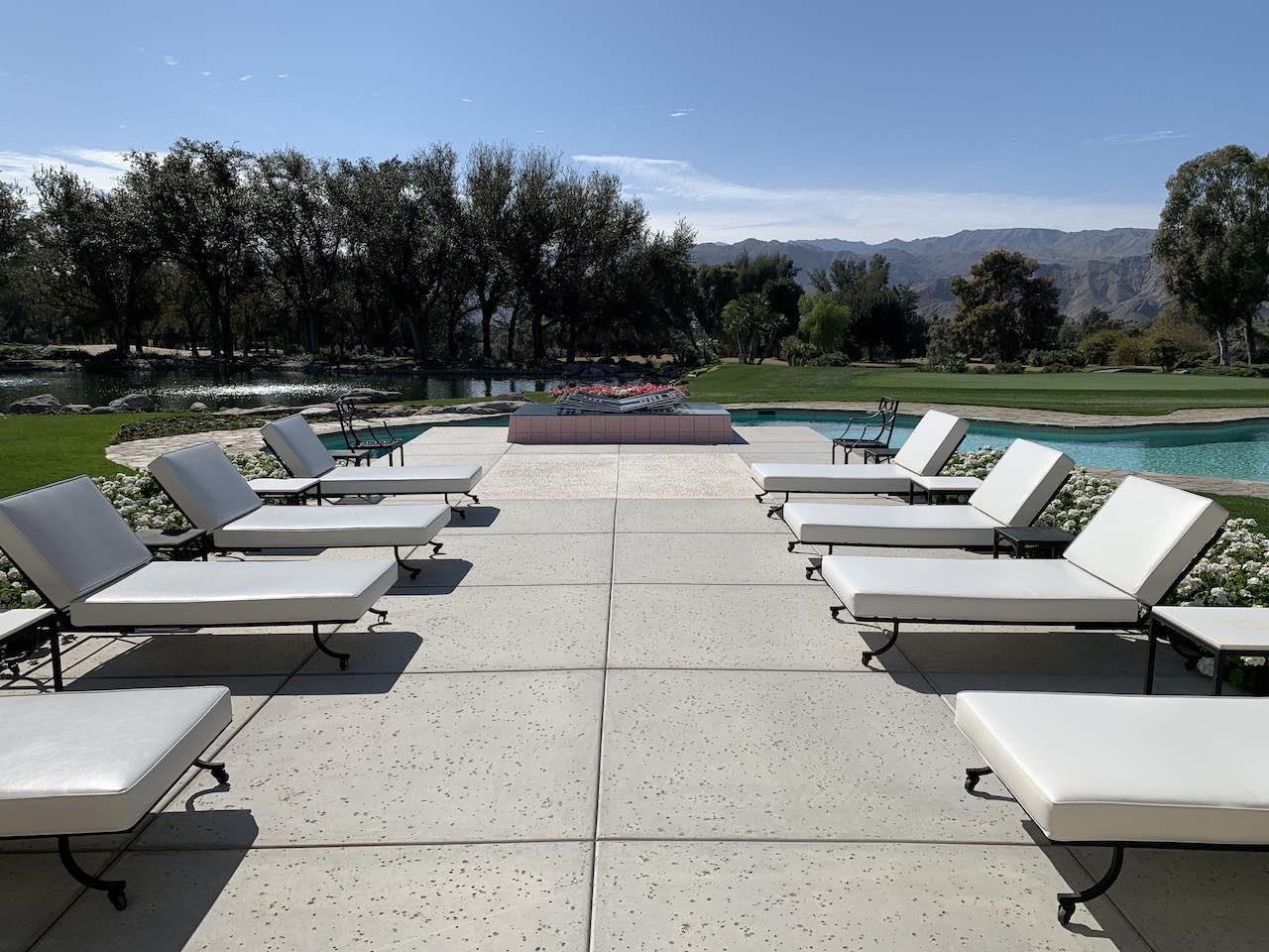 Sunnylands Pool Palm Springs